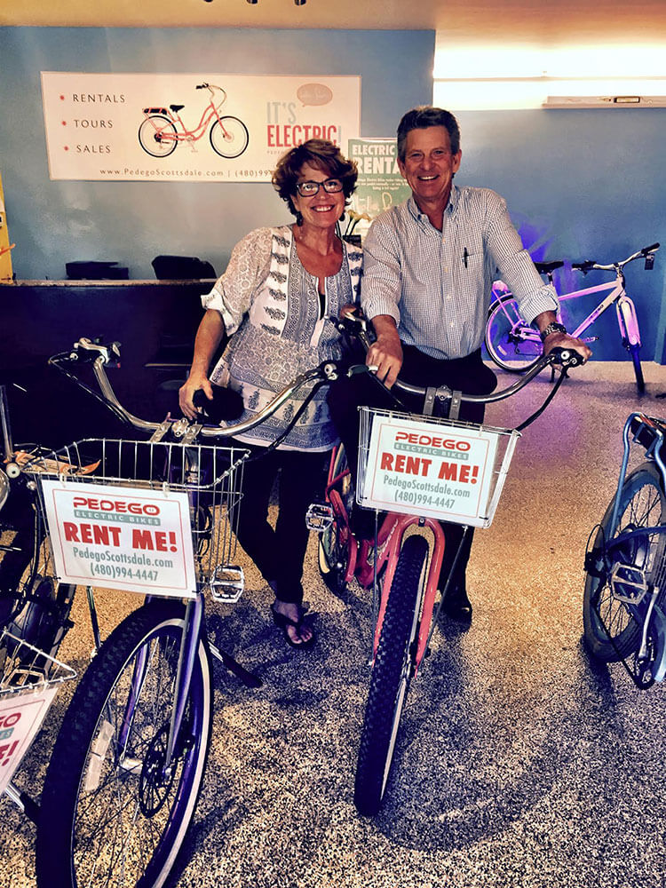 Hot New Pedego Store Sizzles In Scottsdale S Sunshine