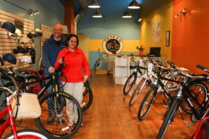 Mike and Gabriela Pedego Boston