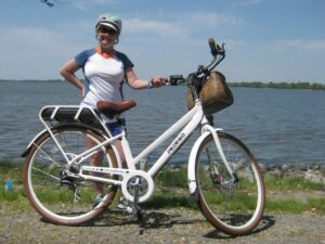 Linda with Pedego