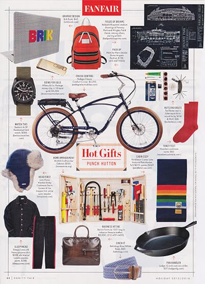 Vanity Fair Holiday Gift Guide