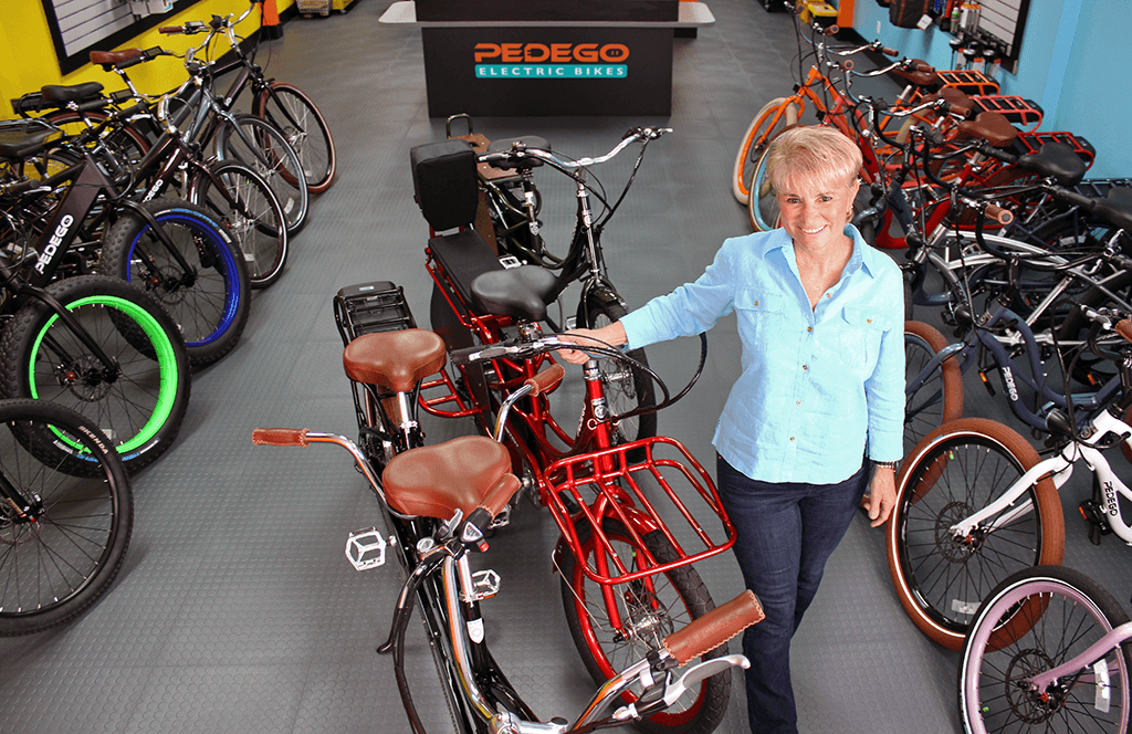 Lisa Paskaly's Pedego Juno Beach store will celebrate its Grand Opening on Saturday, Jan. 14th