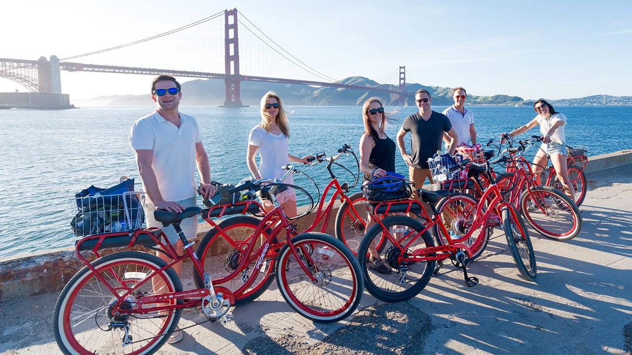 Dylan's Tours - Intro to SF Electric Bike Tour