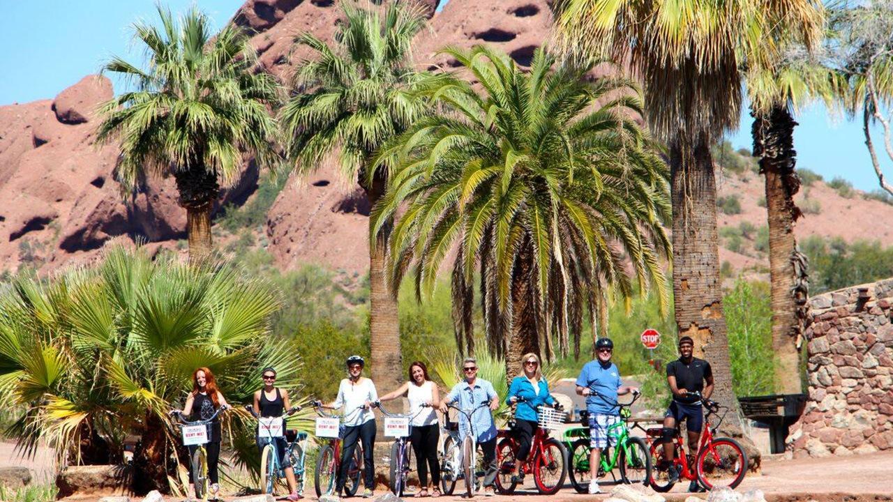"Pedego Scottsdale - Tempe Town Lake to ""Old Town Express"" Electric Bike Tour"