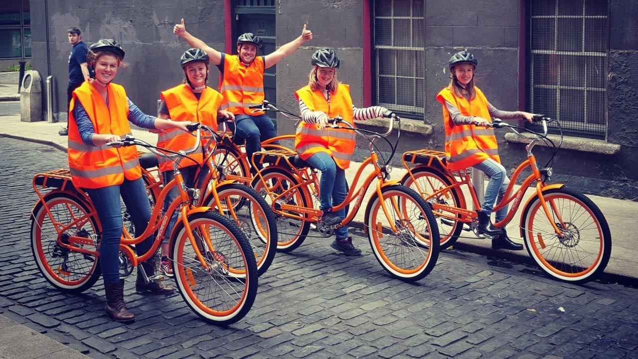 Lazy Bike Tours - Dublin City Electric Bike Tour