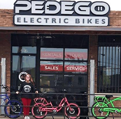 BK Snyder, owner of Pedego Dallas