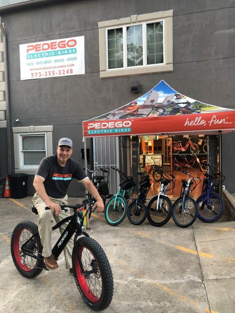 Pedego Columbia owner Dan Cain