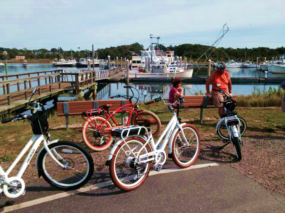 Pedego electric bikes in Cape Cod