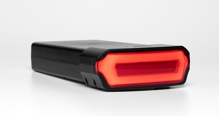 New Pedego battery light included brake light and turn signals